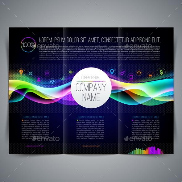 Template Leaflet Design - Business Conceptual