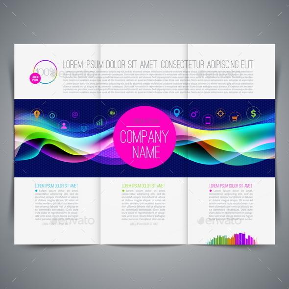 Template Leaflet Page Design - Concepts Business