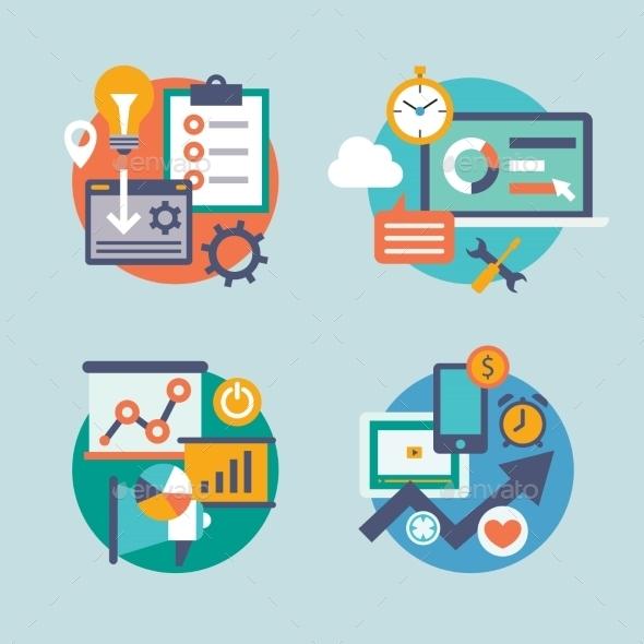 Internet Marketing Icons - Web Technology