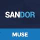 Sandor - Creative Multipurpose Muse Template