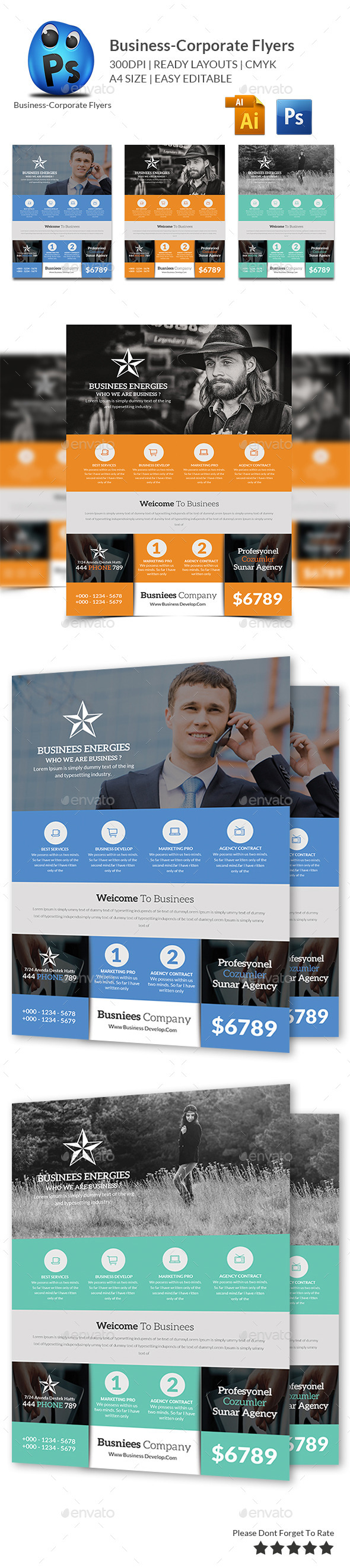 Smart Business Flyers Template - Corporate Flyers