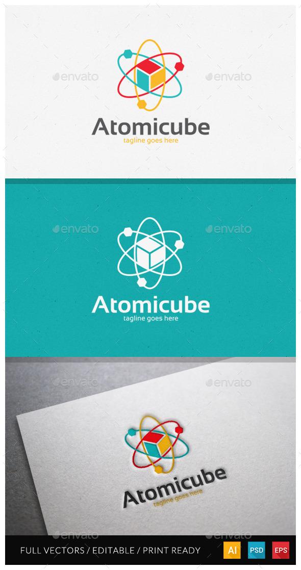 Atomicube Logo Template - Symbols Logo Templates
