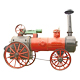 Antique steam tractor - GraphicRiver Item for Sale