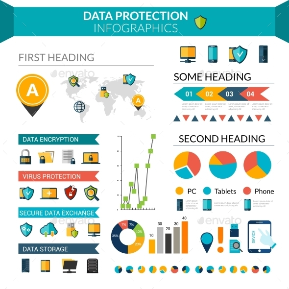 Data Protection Infographics - Infographics