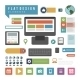 Devices and Icons Infographic - GraphicRiver Item for Sale