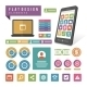 Mobile Phone Infographic - GraphicRiver Item for Sale
