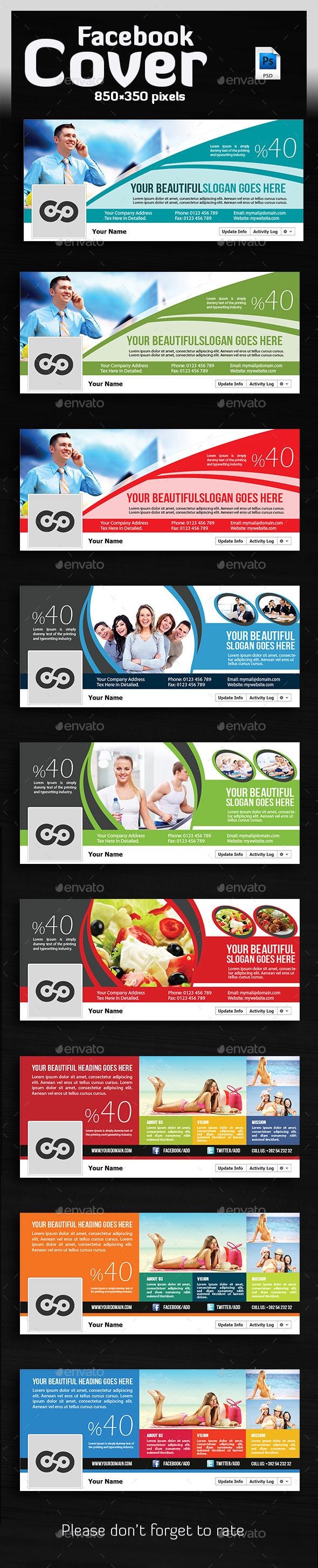 Bundle Facebook Timelines Covers  - Facebook Timeline Covers Social Media