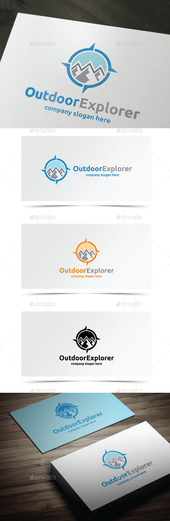 Outdoor Explorer - Objects Logo Templates