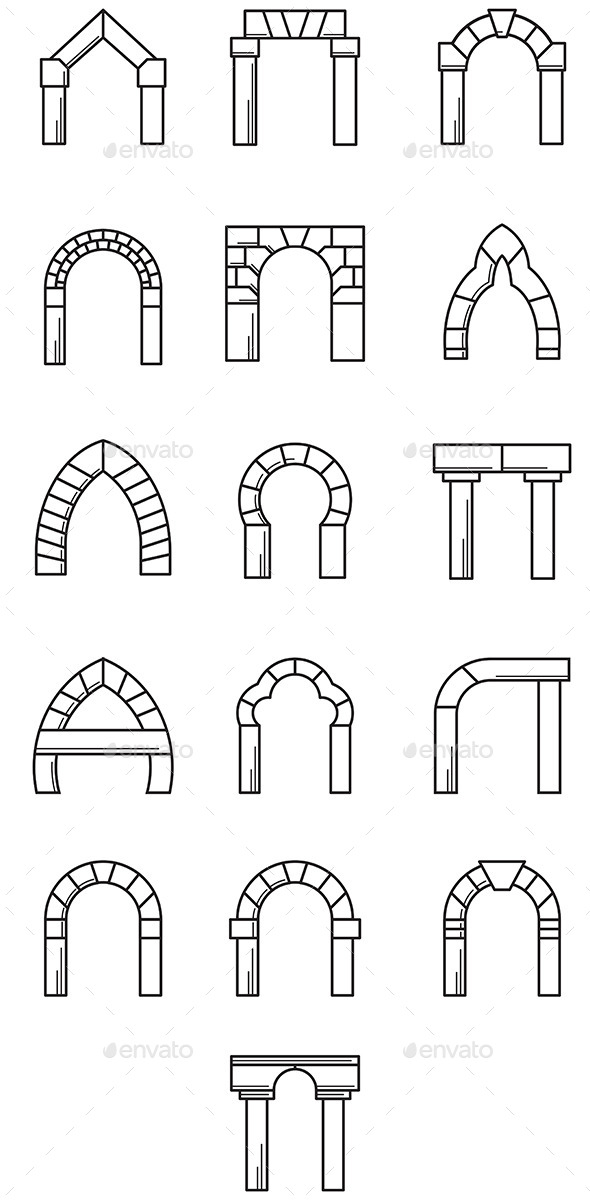Arches - Buildings Objects