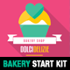 Material Design Bakery Start Kit Template - GraphicRiver Item for Sale