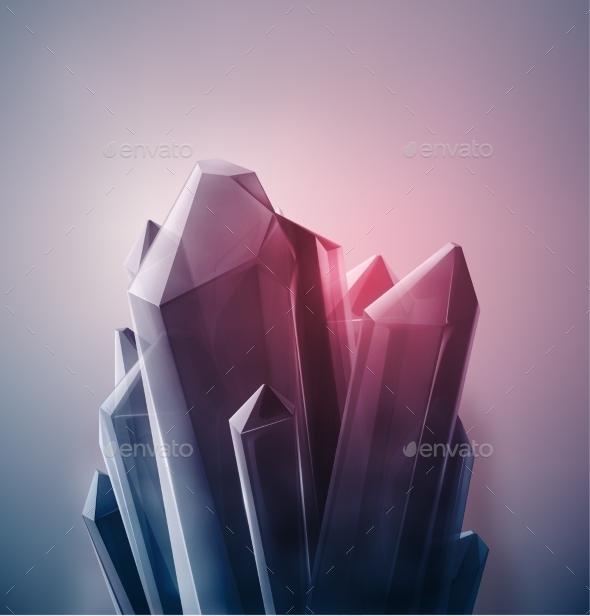 Precious Crystal - Nature Conceptual