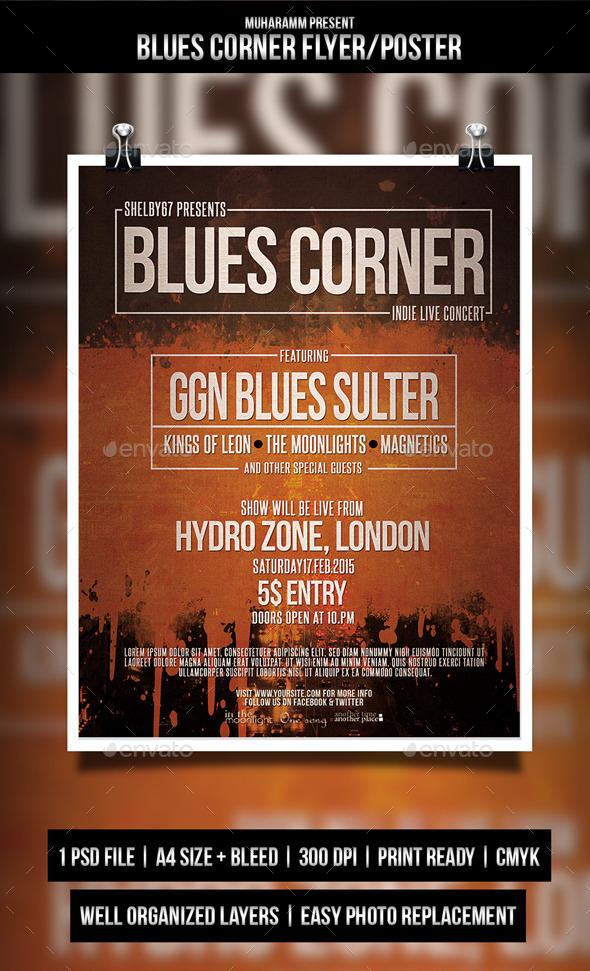 Indie Blues Corner - Concerts Events
