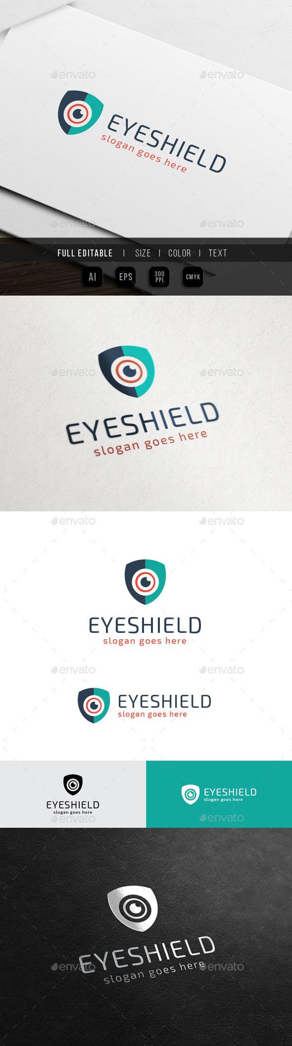 Eye Shield - Protection - Symbols Logo Templates