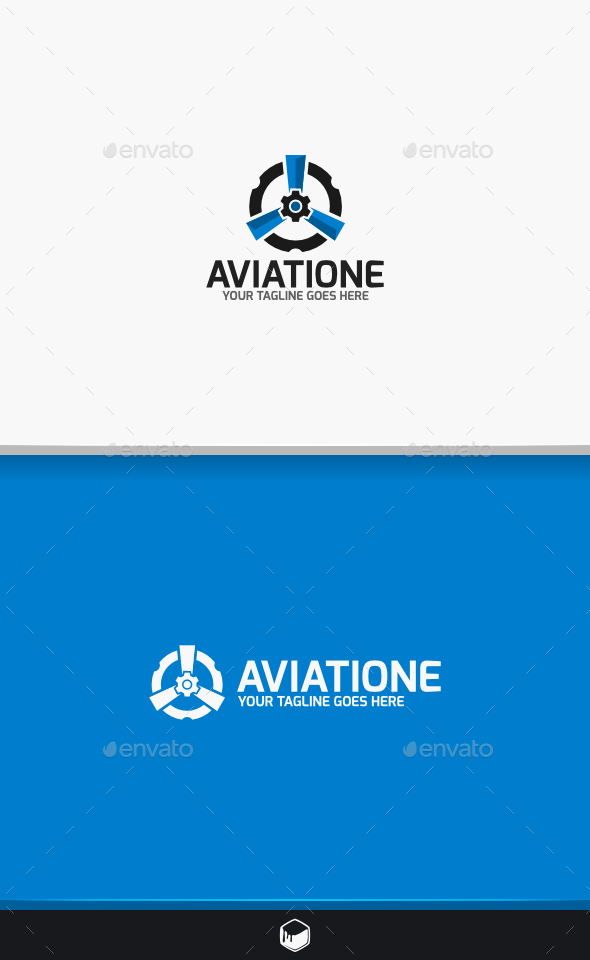 Turbine Aviatione Logo - Symbols Logo Templates