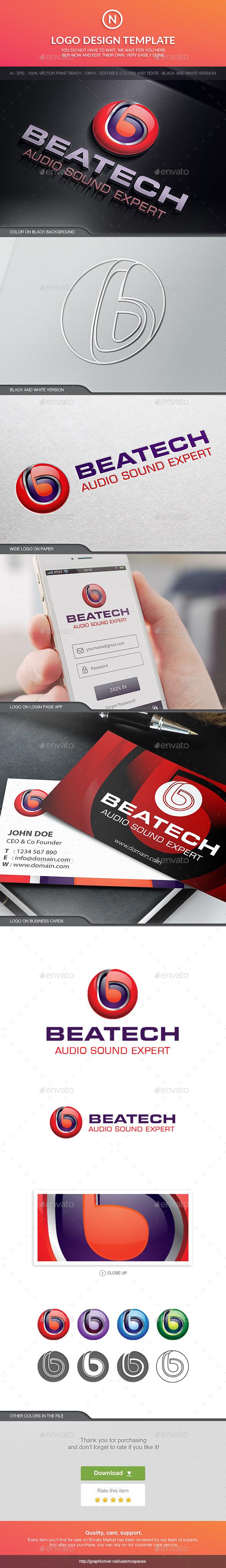 Beatech - Letters Logo Templates