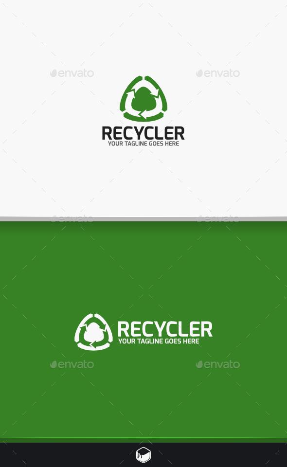 Recycler Logo - Symbols Logo Templates