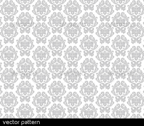 Floral Vector Pattern - Patterns Decorative