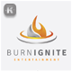 Burn Ignite Logo - GraphicRiver Item for Sale