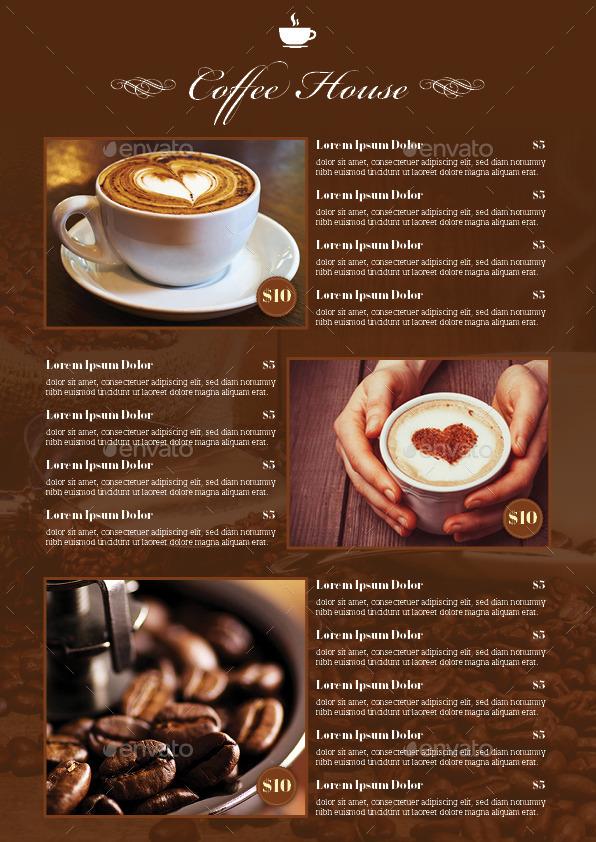 Coffee Flyer Template   Restaurant Flyers · Back ...