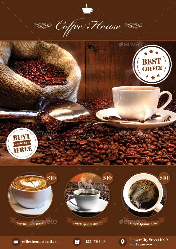 Coffee Flyers Hossshana