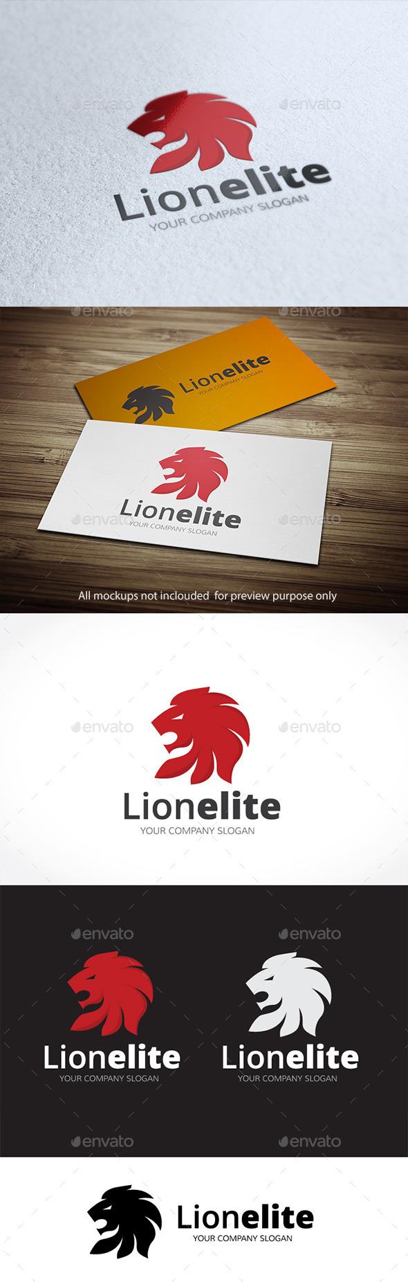 Lion Elite - Animals Logo Templates