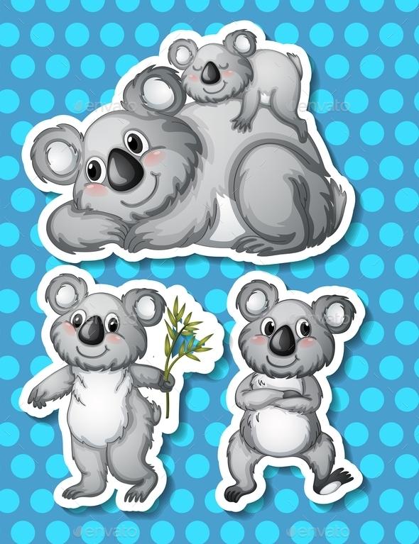 Koala - Animals Characters