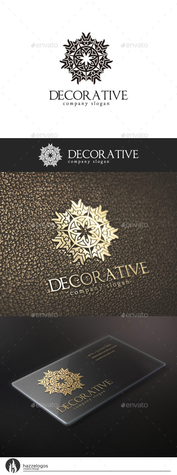 Decorative Logo - Abstract Logo Templates