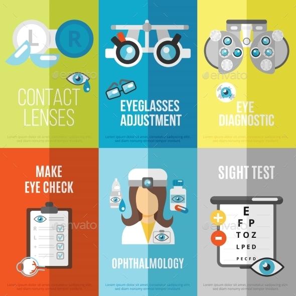 Oculist Mini Poster Set - Health/Medicine Conceptual