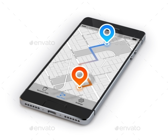 Smartphone Mobile Navigation - Computers Technology