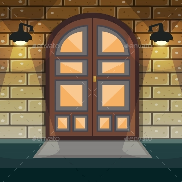 Home Entrance Door - Buildings Objects