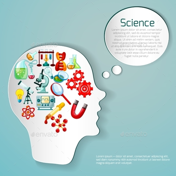 Science Poster Illustration - Miscellaneous Vectors