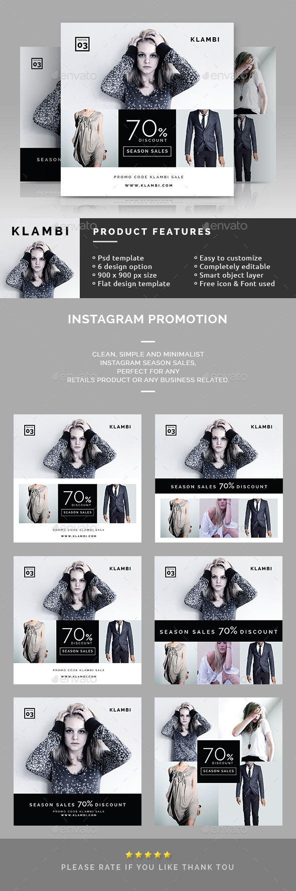 Instagram Promotion Banners - Miscellaneous Social Media
