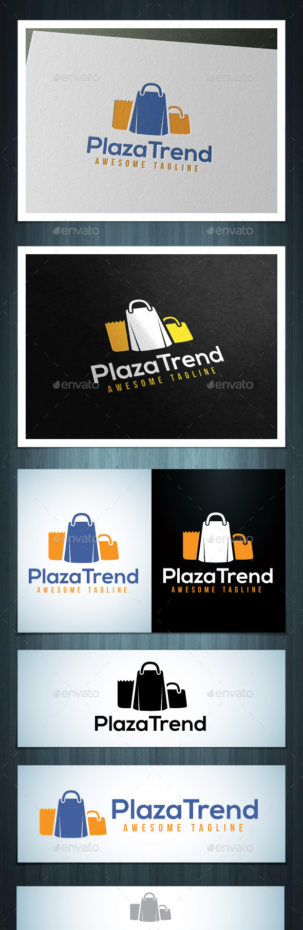 Plaza Trend - Vector Abstract