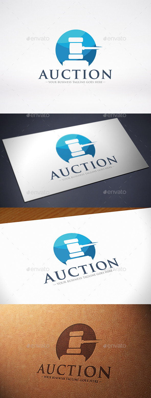 Auction Logo Template - Objects Logo Templates