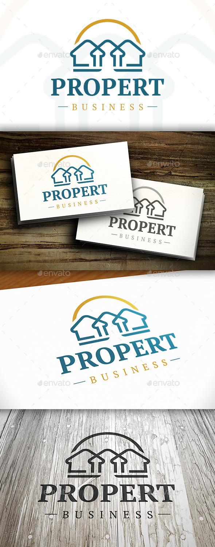 Luxury Real Estate Logo - Buildings Logo Templates