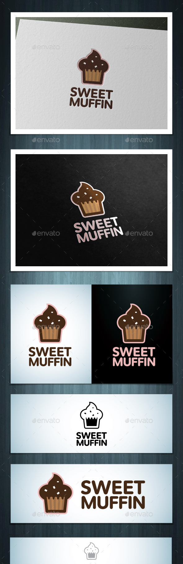 Sweet Muffin - Vector Abstract