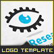Gear Research Eye - Logo Template - GraphicRiver Item for Sale