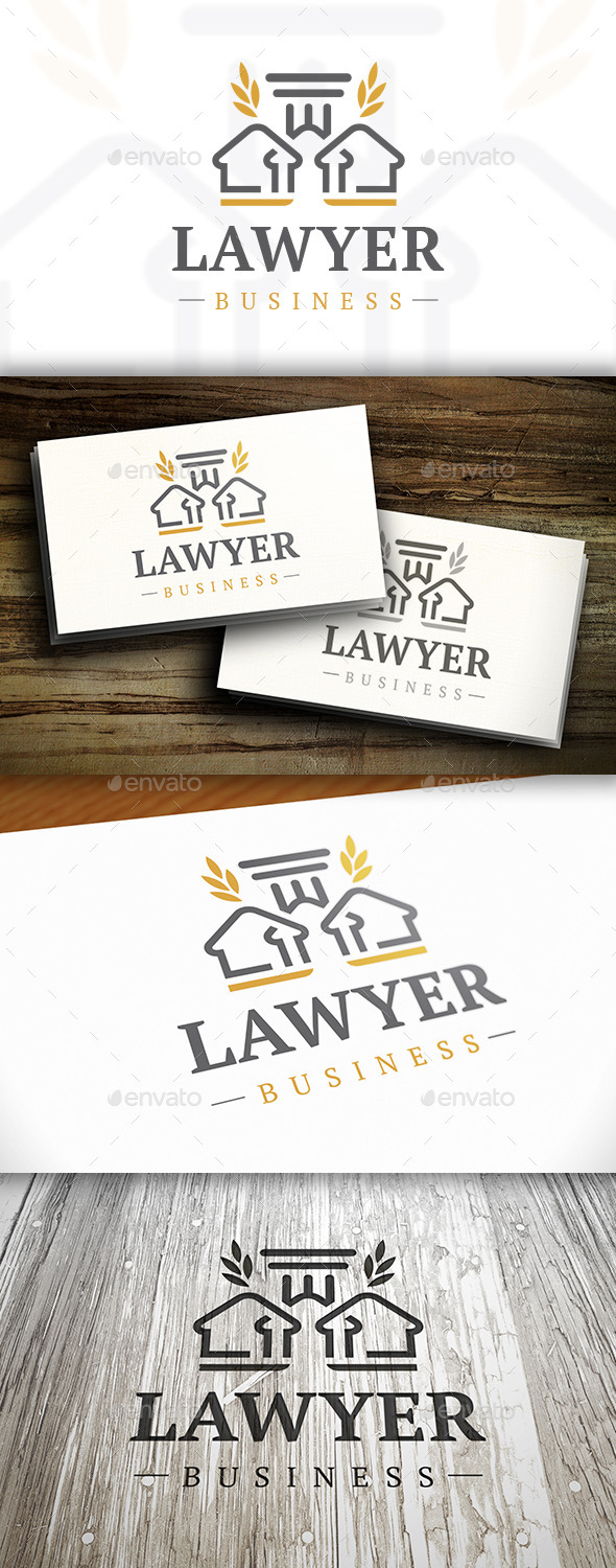 Lawyer Logo - Crests Logo Templates