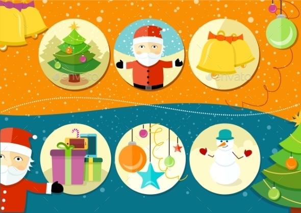 Christmas and New Year Icons - Christmas Seasons/Holidays