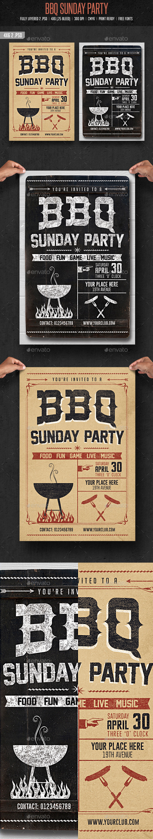BBQ Sunday Party - Clubs & Parties Events