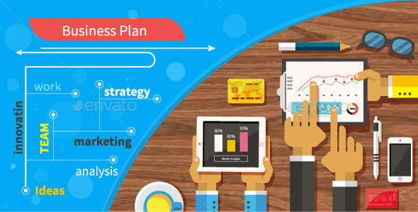 Business Plan Strategy Touchscreen Presentation - Concepts Business