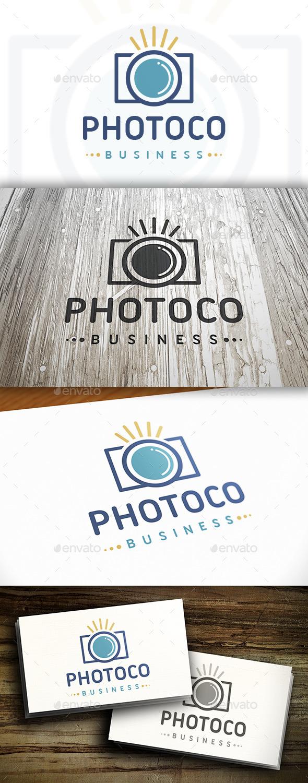 Photo Shot Logo - Objects Logo Templates
