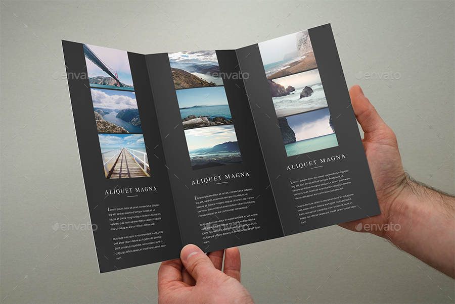 Photography TriFold Brochure Template By ShapShapy GraphicRiver - Photography brochure templates