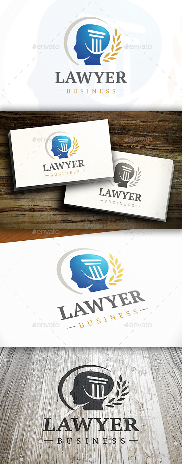 Law Office Logo - Humans Logo Templates