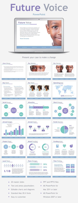 Future Voice PowerPoint Template - PowerPoint Templates Presentation Templates