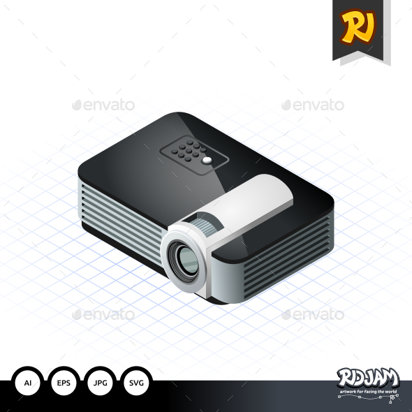 Isometric Projector - Media Technology