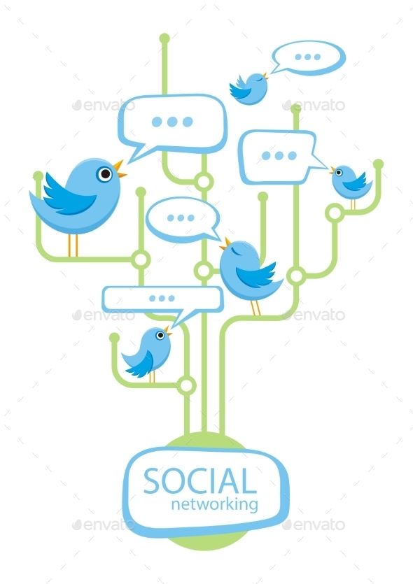 Social Media Concept - Communications Technology