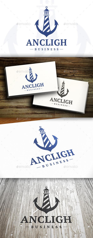 Anchor Lighthouse Logo - Symbols Logo Templates