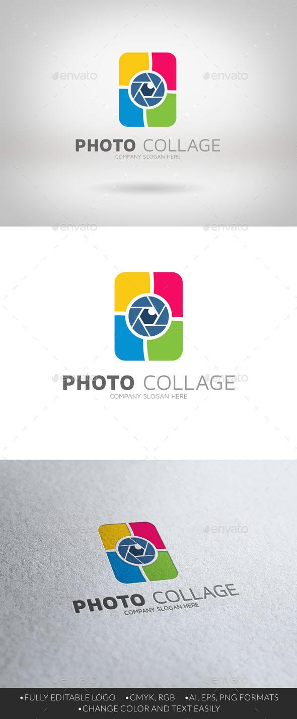 Photo Collage Logo - Abstract Logo Templates