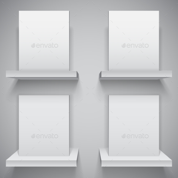 Blank White Boxes - Man-made Objects Objects